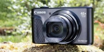 Обзор Canon PowerShot SX740 HS – 40-кратный зум и 4K UHD