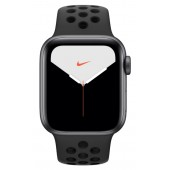 Apple Watch Series 5 Nike+ GPS 44mm Space Gray Aluminum Case with Pure Antracite/Black Nike Sport Band MX3W2