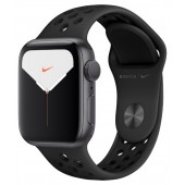 Apple Watch Series 5 Nike+ GPS 40mm Space Gray Aluminum Case with Pure Antracite/Black Nike Sport Band MX3T2