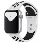 Apple Watch Series 5 Nike+ GPS 40mm Aluminum Case with Pure Platinum/Black Nike Sport Band MX3R2