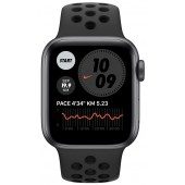 Apple Watch Series 6 Nike+ GPS 44mm Space Gray Aluminum Case with Pure Antracite/Black Nike Sport Band MG173