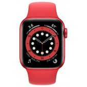 Apple Watch Series 6 GPS 44mm (PRODUCT)RED Aluminum Case with Red Sport Band