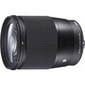 Объектив Sigma 16mm F1.4 DC DN Contemporary Canon EF-M