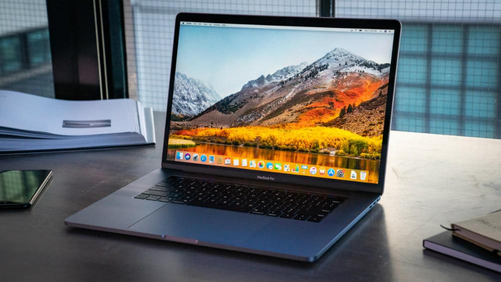 Macbook Pro 16 Space Gray keyboard